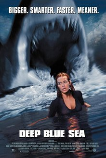 poster Deep Blue Sea (1999)