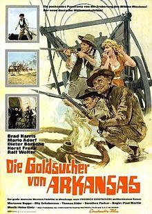 poster Die Goldsucher von Arkansas (1964)