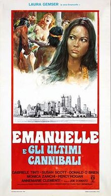 poster Emanuelle and the Last Cannibals (1977)