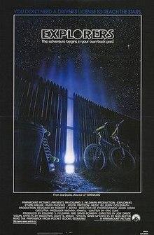 poster Explorers (1985)