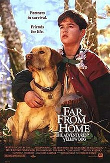 poster Far from Home The Adventures of Yellow Dog (1995)