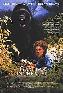 poster Gorillas in the Mist The Story of Dian Fossey (1988)