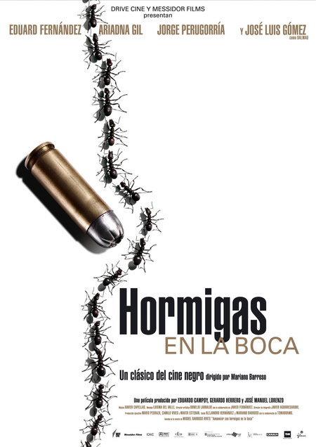poster Hormigas en la boca (2005)