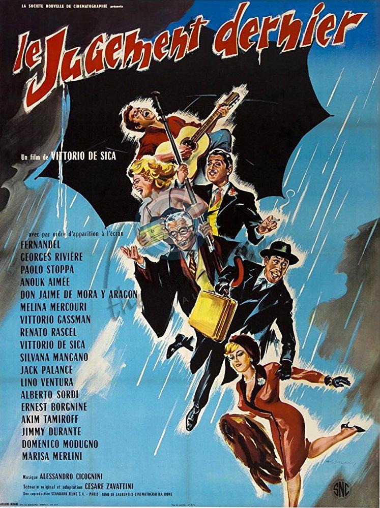 poster Il giudizio universale (1961)