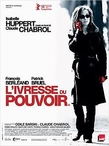poster L ivresse du pouvoir (2006)