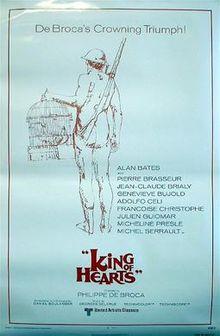 poster Le Roi de Coeur (1966)