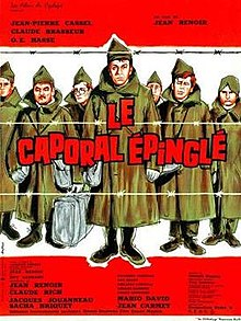 poster Le caporal epingle (1962)
