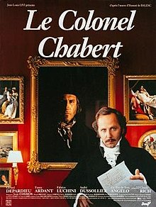 poster Le colonel Chabert (1994)