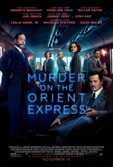 poster Murder on the Orient Express (2017)