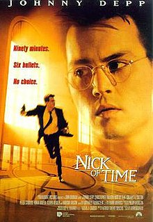 poster Nick of Time (1995)
