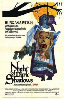 poster Night of Dark Shadows (1971)