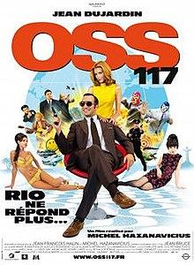 poster OSS 117 Rio ne repond plus (2009)