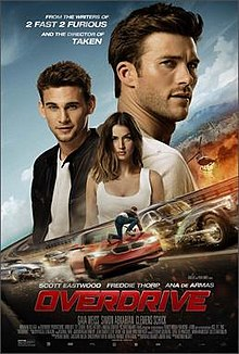 poster Overdrive (2017)