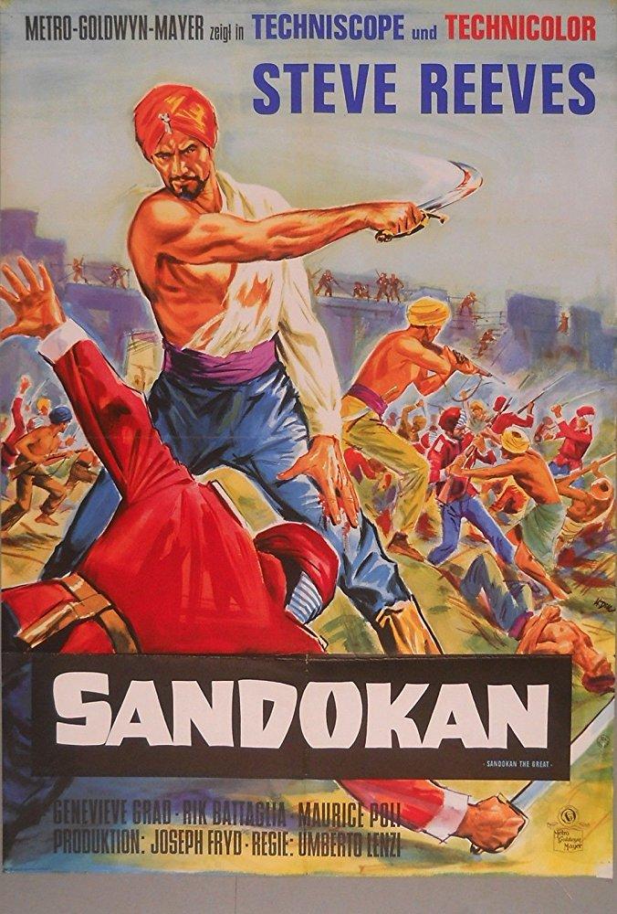 poster Sandokan, la tigre di Mompracem (1963)