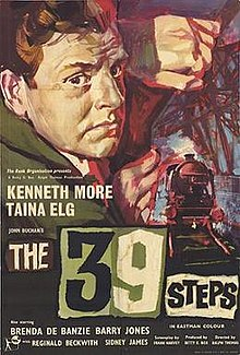 poster The 39 Steps (1959)