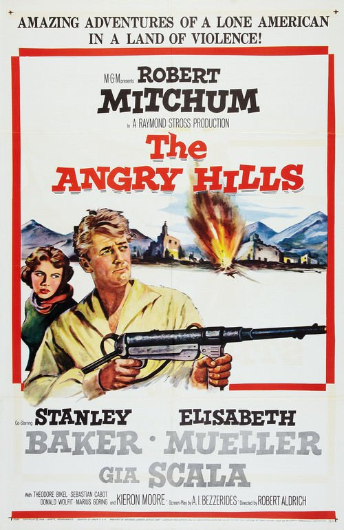 poster The Angry Hills (1959)