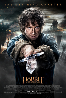 poster The Hobbit The Battle of the Five Armies (2014)