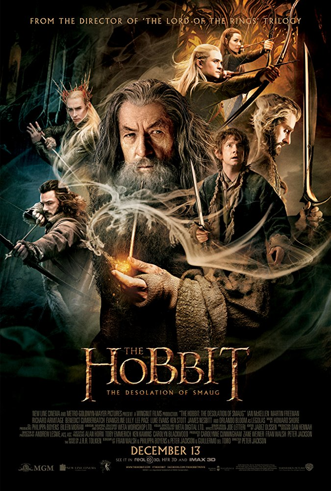poster The Hobbit The Desolation of Smaug (2013)
