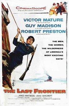 poster The Last Frontier (1955)