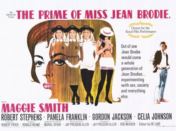 poster The Prime Of Miss Jean Brodie (1969)