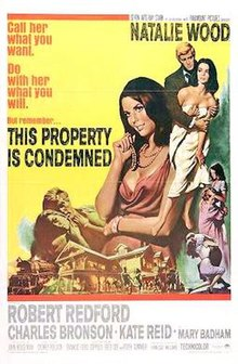 poster This Property Is Condemned (1966)