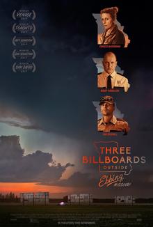poster Three Billboards Outside Ebbing, Missouri (2017)