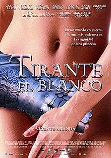poster Tirante el Blanco (2006)