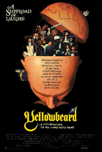 poster Yellowbeard (1983)