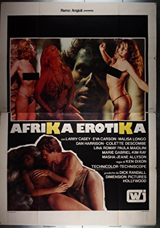 poster Africa Erotica aka A Happening in Africa (1970)