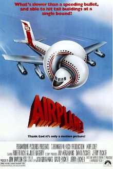 poster Airplane (1980)