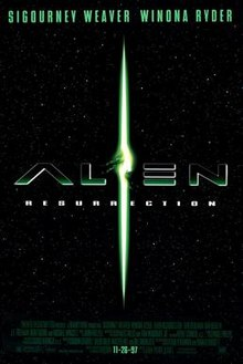 poster Alien Resurrection (1997)