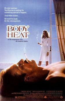 poster Body Heat (1981)