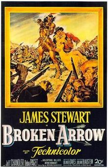 poster Broken Arrow (1950)