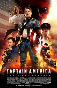 poster Captain America The First Avenger (2011)
