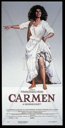 poster Carmen (1984)