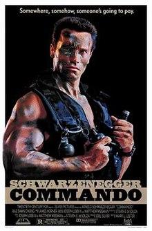 poster Commando (1985)