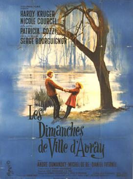poster Cybele ou Les Dimanches de ville d Avray (1962)
