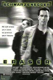poster Eraser (1996)