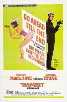 poster Gambit (1966)