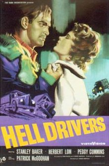 poster Hell Drivers (1957)