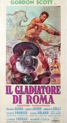 poster Il Gladiatore di Roma (1962)