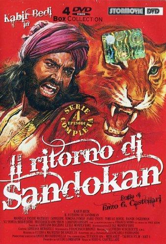 poster Il Ritorno Di Sandokan (1996)