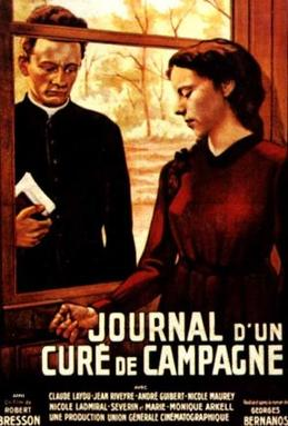 poster Journal d'un cure de campagne (1951)