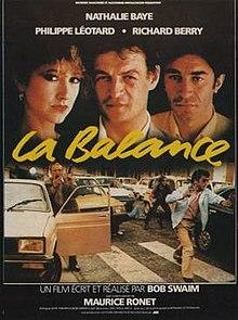 poster La balance (1982)