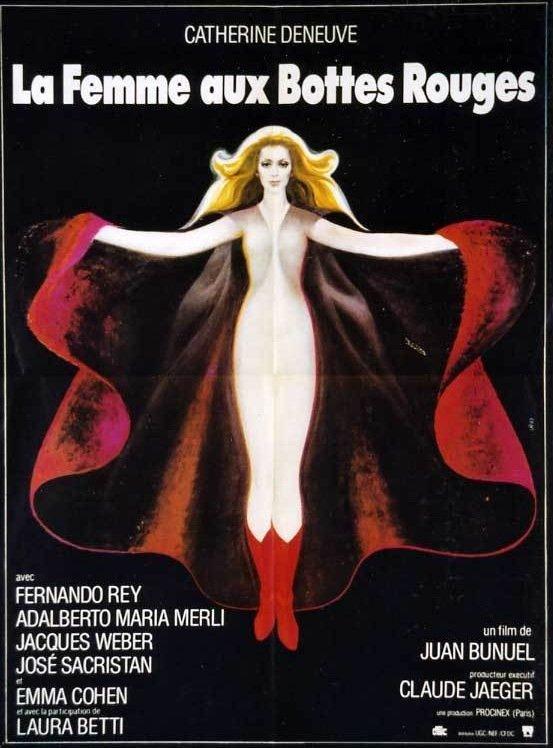 poster La femme aux bottes rouges (1974)