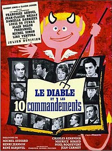 poster Le diable et les dix commandements (1962)