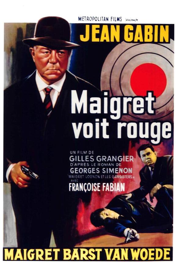 poster Maigret voit rouge (1963)
