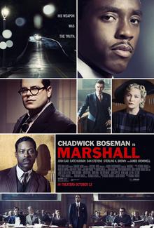 poster Marshall (2017)
