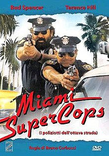 poster Miami Supercops (1985)