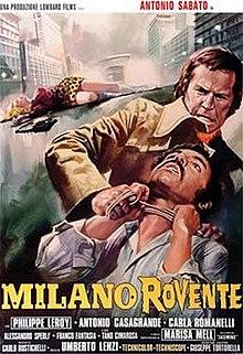poster Milano rovente (1973)